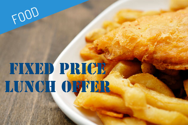 Fixed Price Lunch Offer