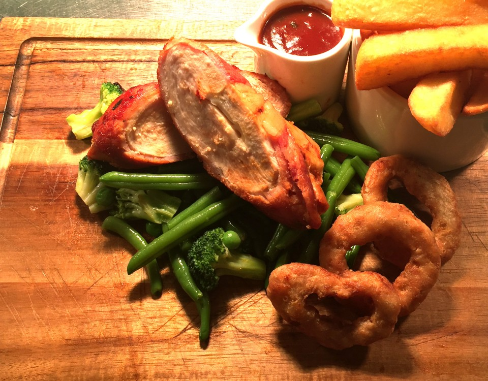 hunters chicken served at our restaurant in maidenhead